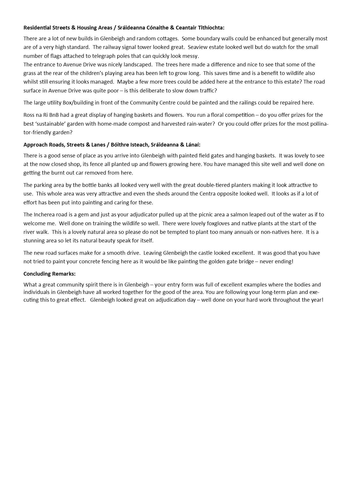 Adjudication Report page 3