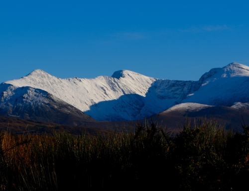 November Snow on The Reeks