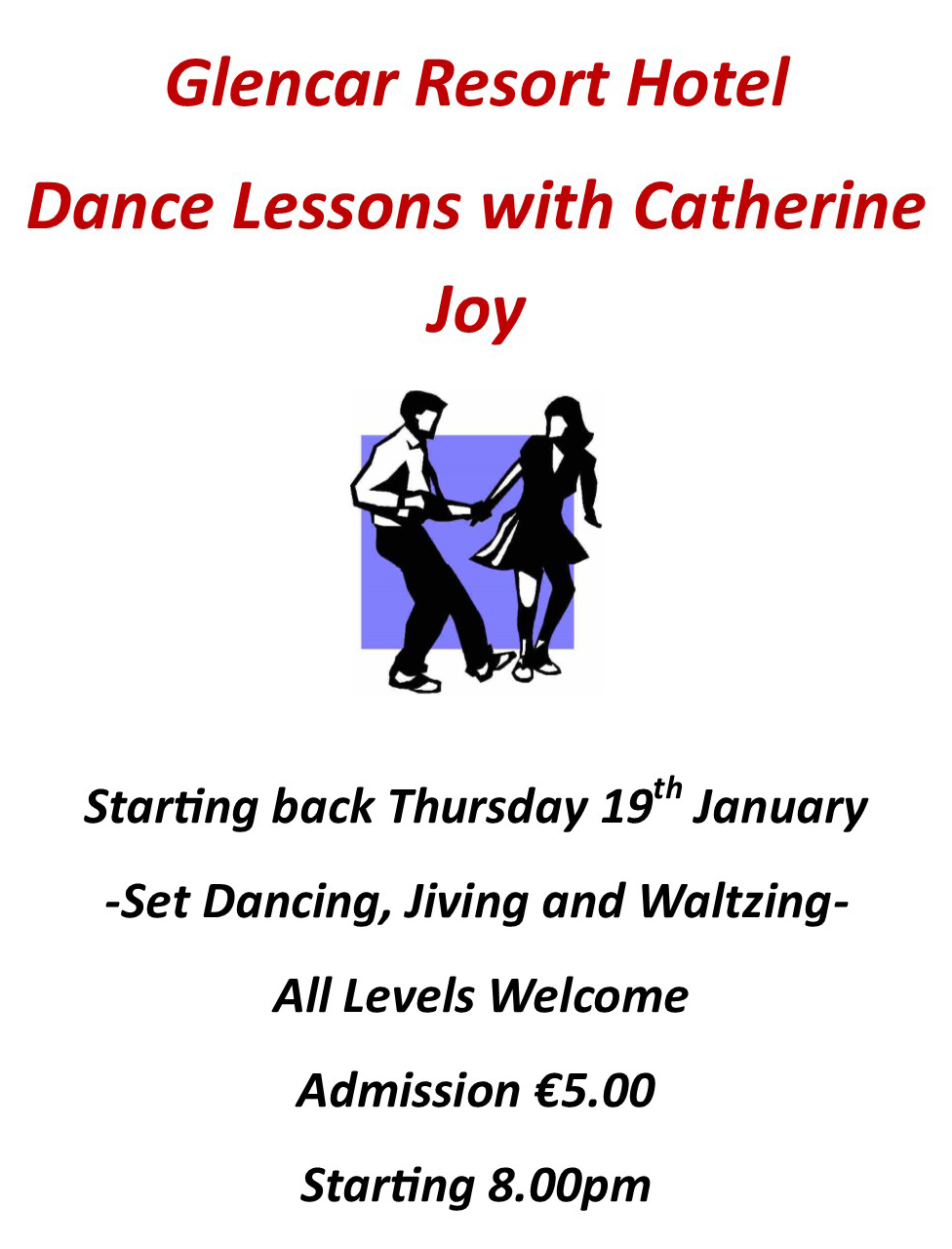 Dance Lessons with Catherine Joy